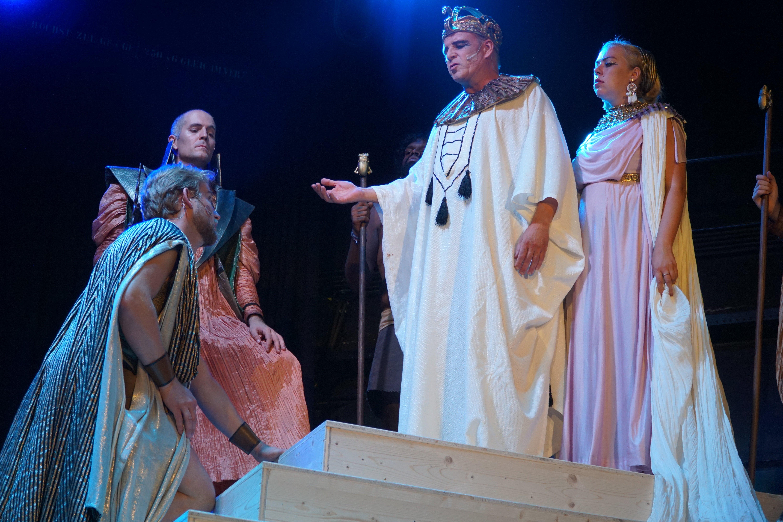 Pharao und Amneris