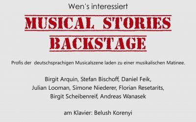 Musical Stories Backstage